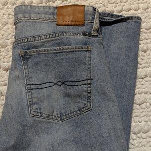 Lucky Brand Sweet Crop lightwash jeans
